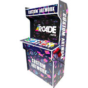 43 New Arcade Cabinet 4players With +17k Games Ready To Play Full Equipment.