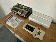 Incredible Boxed Cgl Galaxy Invader Vintage 1978 Handheld Electronic Game - Mint