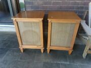 1950s Mcm Speaker Cabinets Loaded With Knight Duplex...gamber Johnson Ev