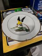 Rare Ray Harm American Songbird Series Plate The American Goldfinch
