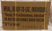 Mre Case B Inspection Date 2022/2023 Military Usgi Meals Ready To Eat