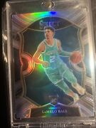 2020-21 Select Basketball Lamelo Ball Silver Concourse Rc Charlotte Hornets