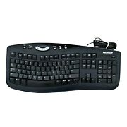 Microsoft Comfort Curve Keyboard 2000 V1.0 Qwerty Business Office Tested Works