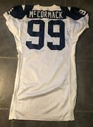 Dallas Cowboys Hurvin Mccormack Game Issued 1994 Apex 75th Throwback Jersey