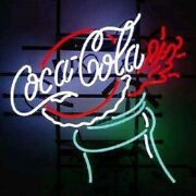 Dimmable Coca Cola Coke Bottle Lamp Neon Light Sign 17x14 With Dimmer