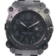 Hamilton H785850 Watches Stainless Steel/rubber Mechanical Automatic Mens ...