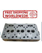 New Engine Cylinder Head Bare With Guide For Kubota D650/750 [3 Cyl] 15371-03040