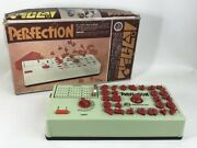 Epoch Perfection Puzzle Game Moving Works Educational Toys 1970 Showa Retro Au-g