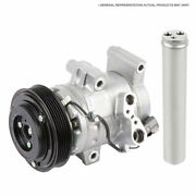 For Infiniti Q45 1997 1998 Oem Ac Compressor W/ A/c Clutch And Drier Csw