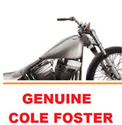 Genuine Cole Foster Bobber Gas Fuel Tank Carburated Harley Softail 1984-99 Fl Fx
