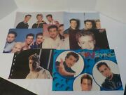 Huge Vintage N Sync Fan Scrapbook Collection Posters Magazines Clippings+
