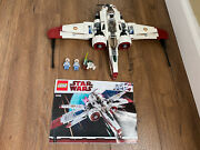 Lego Star Wars 8088 - Arc-170. Used. Complete Set. 4 Figures. Discontinued