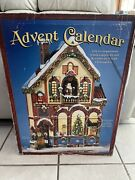 Wooden Advent Calendar 24 Doors Victorian House Stand Alone 663167 Approx 23andrdquo