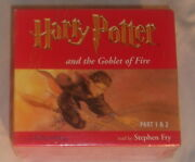 Bbc Audio Book Harry Potter And The Goblet Of Fire Read By Stephen Fry New