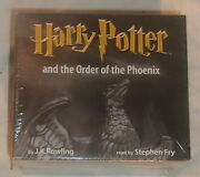 Bbc Audio Book Harry Potter And The Order Of The Phoenix Read By Stephen Fry New