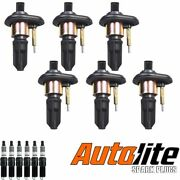 Ignition Coil And Autolite Spark Plug For Gmc Canyon Envoy Buick Rainier Uf303