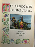 The Childrens Book Of Bible Stories Hardcover 1954