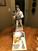1977 Mccormick Elvis Presley Decanter With Music Box Love Me Tender 15 W/box