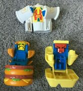 Mcdonalds 1987 Changeables Happy Meal Transformer Toys Big Mac Mcnuggets Shake