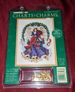 Dimensions Charts And Charms 8513 Melody Of Christmas Counted Cross Stitch New