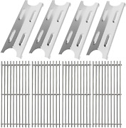 Grill Cooking Grates And Heat Plates Stainless Steel Kit For Master Forge Bg179a