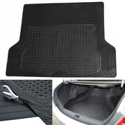 Cargo Trunk Floor Mat Liner For Car Suv Truck All Weather Universal Fit Black Us