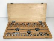 Bergeon Tap And Die Set Watchmaker Tool Vintage Good Condition Swiss Made