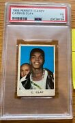 1965 Perfetti Candy Cassius Clay Psa 3 Vg
