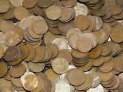 5000 Lincoln Wheat Cents 1909-1958 Assorted Unsearched Pennies 50 Bag