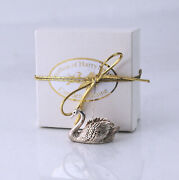 Harry Smith Sterling Silver Swan Christmas Ornament