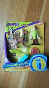 Imaginext Scooby Scooby-doo And Shaggy Figures Toys Pizza Launcher Fisher Price