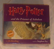 New Bbc Audio Book Harry Potter And The Prisoner Of Azkaban Read By Stephen Fry