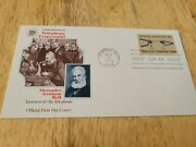Alexander Graham Bell First Day Of Issue Stamp 1976 Candp Telephone Hundred Years