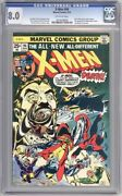 X-men 94 Cgc 8.0 Off-white Pages - New X-men Begin. 2nd App Of Few Characters