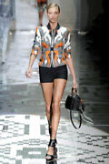 Woven Leather Runway Tom Ford Jacket 42 It M