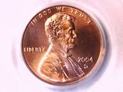 2004 D Lincoln Memorial Cent Penny Pcgs Ms 67 Rd 73030081