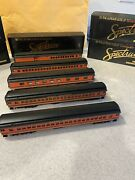 Spectrum Great Northern Passenger Cars 5 Look Brand New Lighted