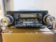 Vintage 70and039s Chevrolet Gm Delco 16020161 Am/fm Stereo Cassette Player Untested