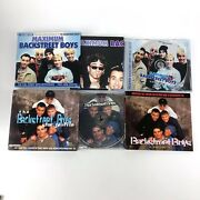 Backstreet Boys Cd Lot Maximum And Star Profile With Book And Poster