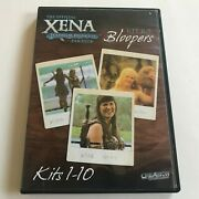 Official Xena Warrior Princess Fan Club Kit 11.5 Bloopers Dvd Lucy Lawless Rare