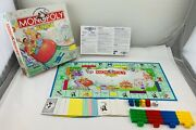 1999 Monopoly Junior Game By Parker Brothers Complete In Great Condition
