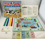 1990 Monopoly Junior Game By Parker Brothers Complete In Great Cond Free Ship