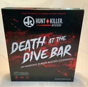 Death At The Dive Bar Hunt A Killer Murder Mystery Game 100 Complete 2020 Cib