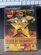 State Of Emergency Greatest Hits Sony Playstation 2 2003