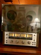Akai 202d-ss 4-channel Quadrophonic Reel To Reel Tape Deck W/cover And Manual