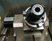 5 Axis Trunnion Cnc 3 Jaw Chuck Er32 Collet Fixture