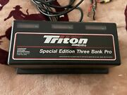 Triton Special Edition 3 Bank Pro Boat Marine Charger