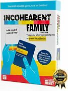 Incoherent Fam Edition The Family Game Where You Compete To Guess The Gibberish