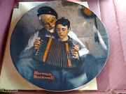 Set Of 3, Norman Rockwell Decorative Collectors Plates 1980s