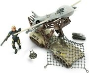 Lanard The Corps Siege Outpost Drone Set Toy Figure Playsets, 11.50 X 3.25 X 11